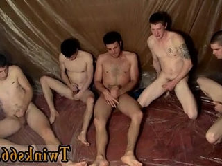 Gay clip of The guys are gathering around and jacking off over him | around   brownhair   clip hot   gays tube