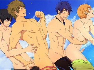 Iwatobi swimming club | club vids