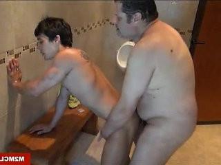 Fucking in the locker room | fucking  locker  massage  room