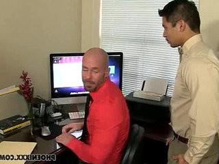 My boss is Gay   boss  gays tube  interracial