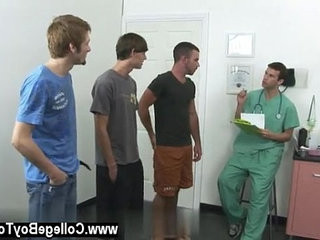 Gay sex Today a group of men stop by the clinic wanting to collect | clinic tv   gays tube   group film   medical   mens   today