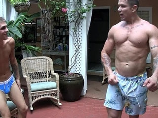 Trenton ducati eats trent ferris sweet ass ass worship muscles | ass collection   rimming   sweet   worship
