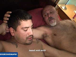 Mature latino sucking dick | dicks  latinos man  mature  sucking