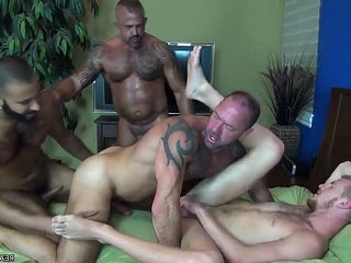 Hot tattooed foursome realmancams.gq | fucking   tattooed