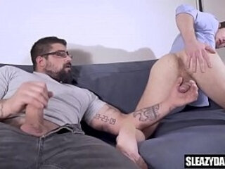 Stepdad gives son a photography lesson - real gay taboo | gays tube  gives  real clips