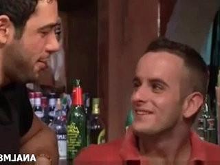 GAYS AT THE BAR | gays tube  kissing