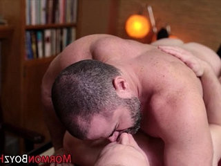 Mormon gets rimmed | ass collection   getting   uniform
